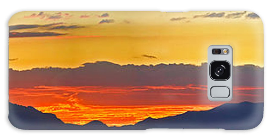 Sunset Galaxy S8 Case featuring the photograph Sunset 20130926 by John Hall