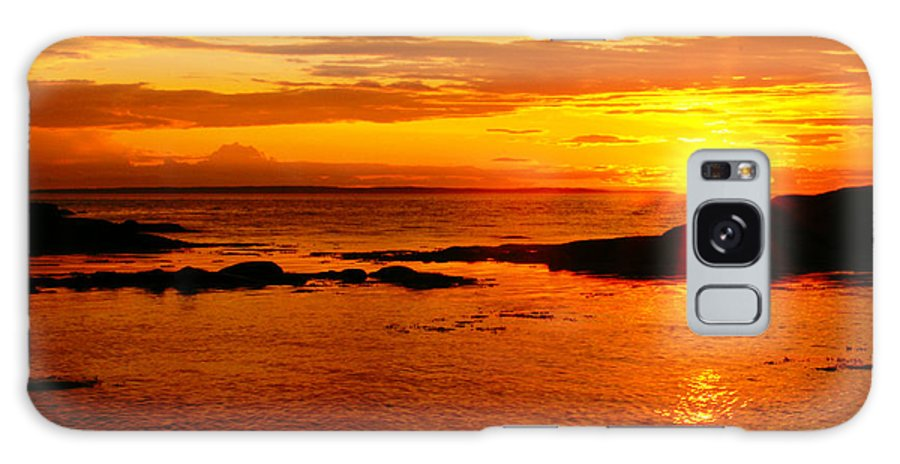 Sunset Prints Galaxy S8 Case featuring the photograph Sunset At Bic by Aimelle