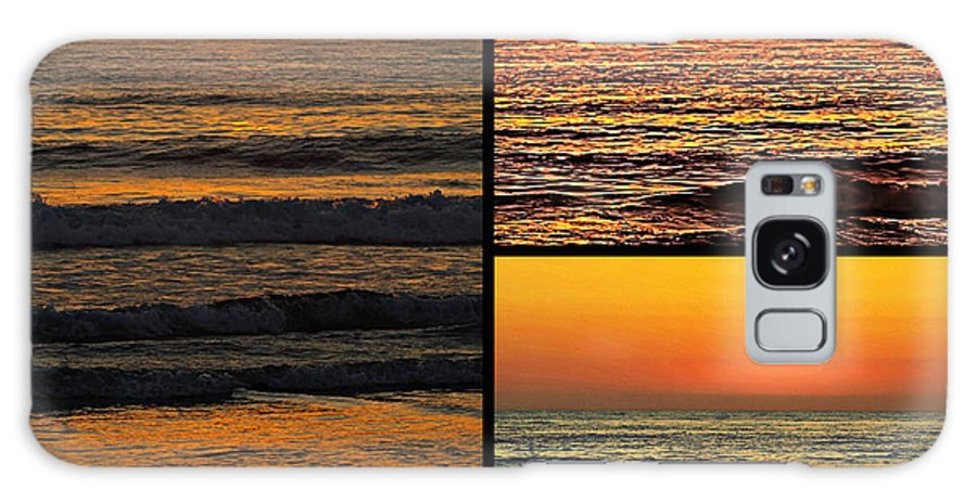 Sunset Galaxy S8 Case featuring the photograph Sunset Collage by Sharon Tate Soberon