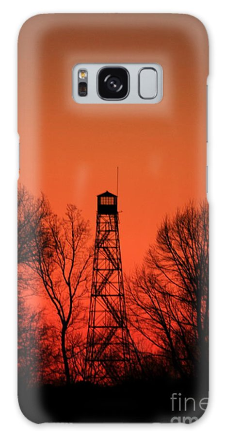 Reid Callaway Fire Tower Galaxy S8 Case featuring the photograph Sunset Fire Tower In Oconee County by Reid Callaway