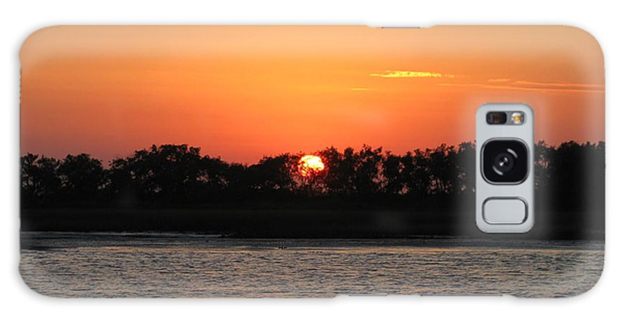 Landscape Galaxy S8 Case featuring the photograph Sunset Glow by Ellen Meakin