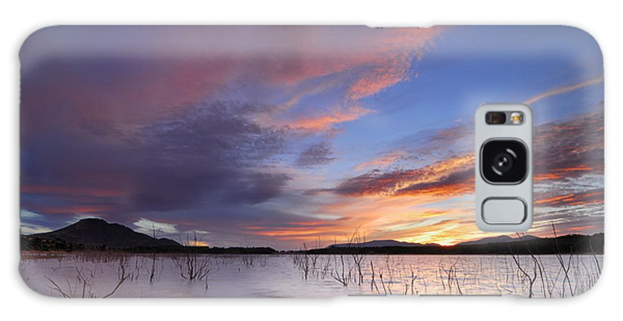 Sunrise Galaxy S8 Case featuring the photograph Sunset by Guido Montanes Castillo