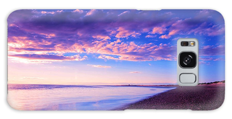Sunset Galaxy S8 Case featuring the painting Sunset In Cape Cod Boston Massachusetts by Paul Ge