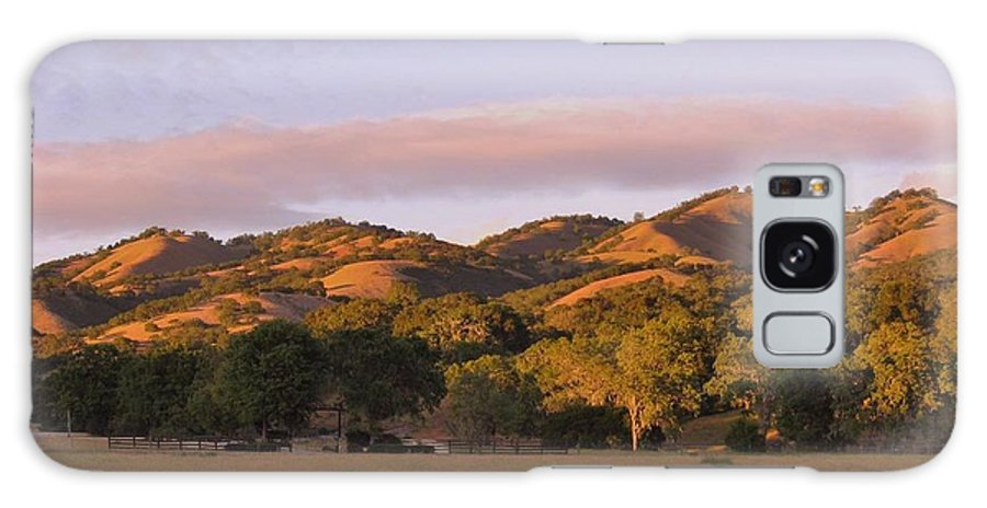 Landscape Galaxy S8 Case featuring the photograph Sunset In Carmel Valley California by Mimi Saint DAgneaux