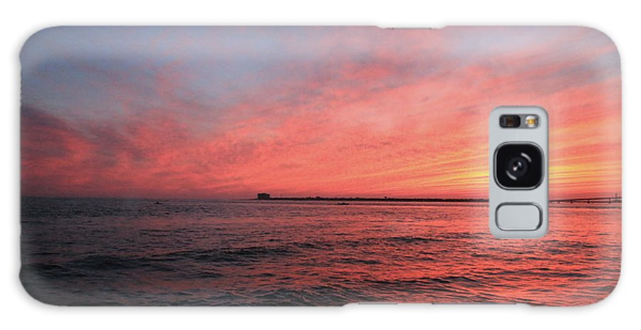 Sunset Galaxy S8 Case featuring the photograph Sunset Longport N.j. by Valerie Stein
