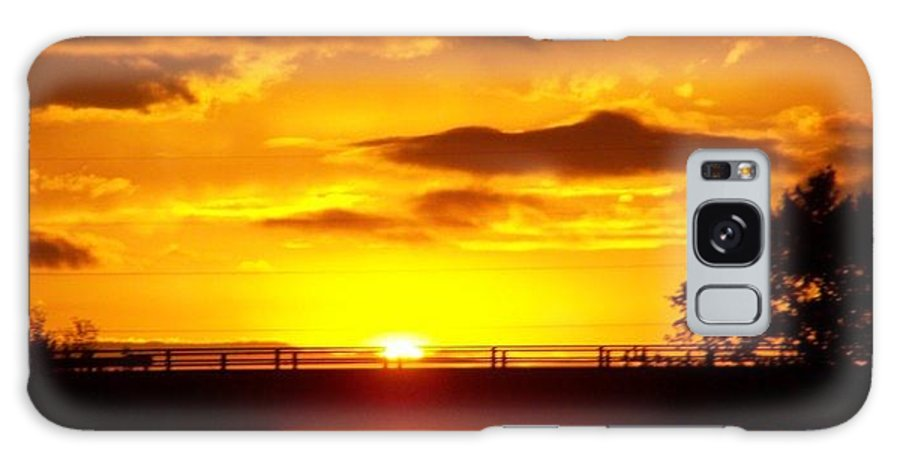 Sunset Galaxy S8 Case featuring the photograph Sunset by Martha Walters