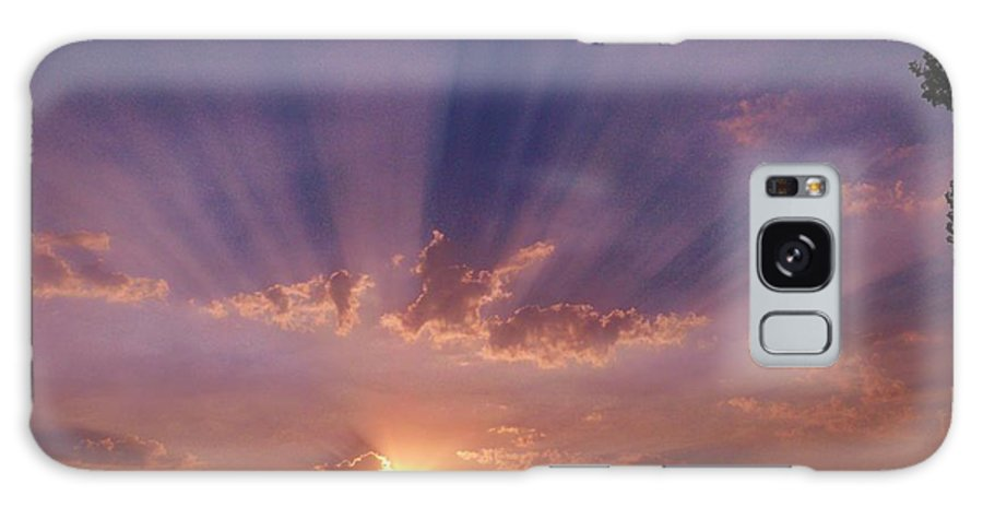 Sunset Photos Galaxy S8 Case featuring the photograph Sunset Of Dreams by Jacquelyn Roberts