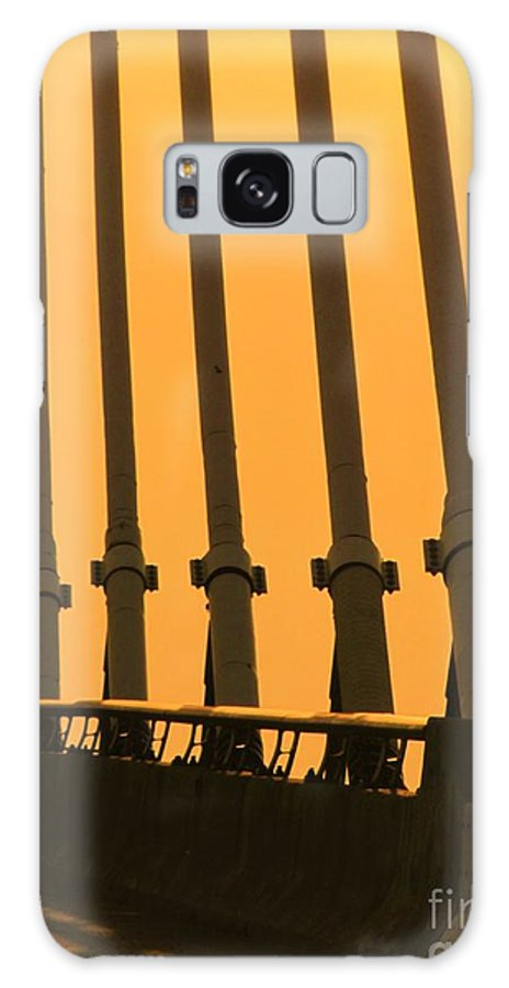 Bridge Galaxy S8 Case featuring the photograph Sunset On A Bridge by Michelle Powell
