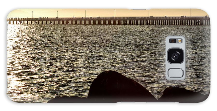 Sunset Galaxy S8 Case featuring the photograph Sunset On The Bay by Shauna Fackler