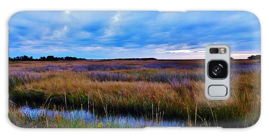 Ocean Galaxy S8 Case featuring the photograph Sunset On The Marsh by Holly Dwyer