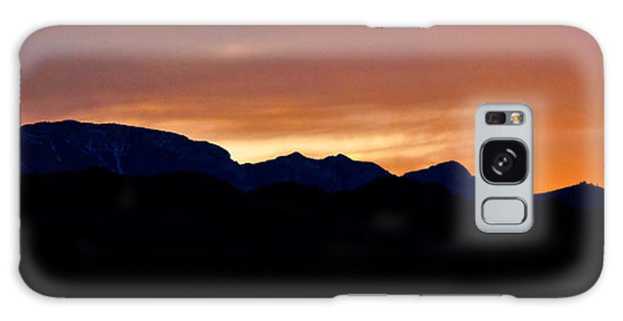 Sunset Galaxy S8 Case featuring the photograph Sunset Over 215 3 by Steve Purifoy