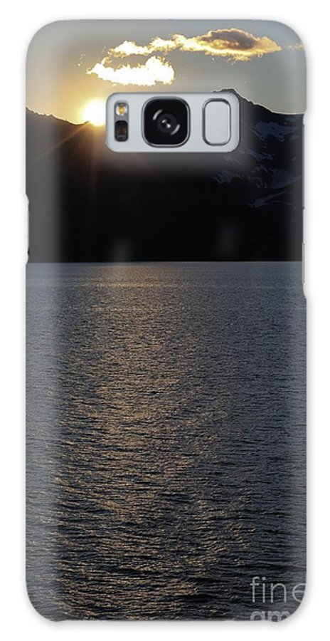 Sunset Galaxy S8 Case featuring the photograph sunset over Alaska by Sophie Vigneault