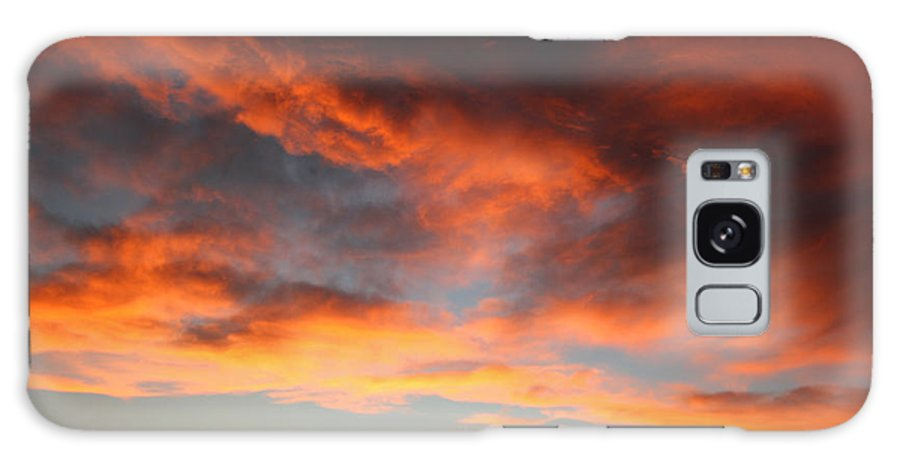 Sunset Galaxy S8 Case featuring the photograph Sunset Over Estes Park by Angie Schutt