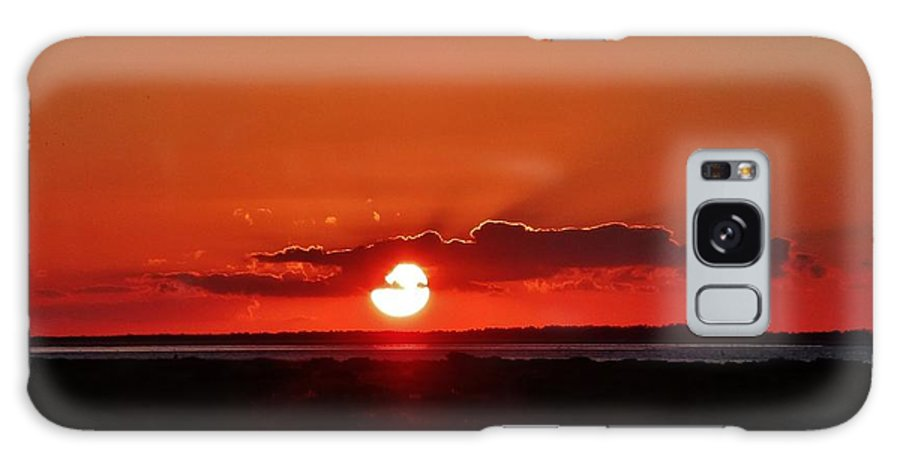 Ocracoke Island Galaxy S8 Case featuring the photograph Sunset Over Ocracoke Island by Holly Dwyer