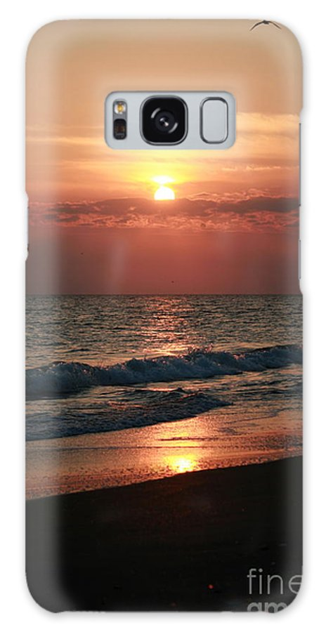 Sunset Galaxy S8 Case featuring the photograph Sunset Reflection by Bren Thompson