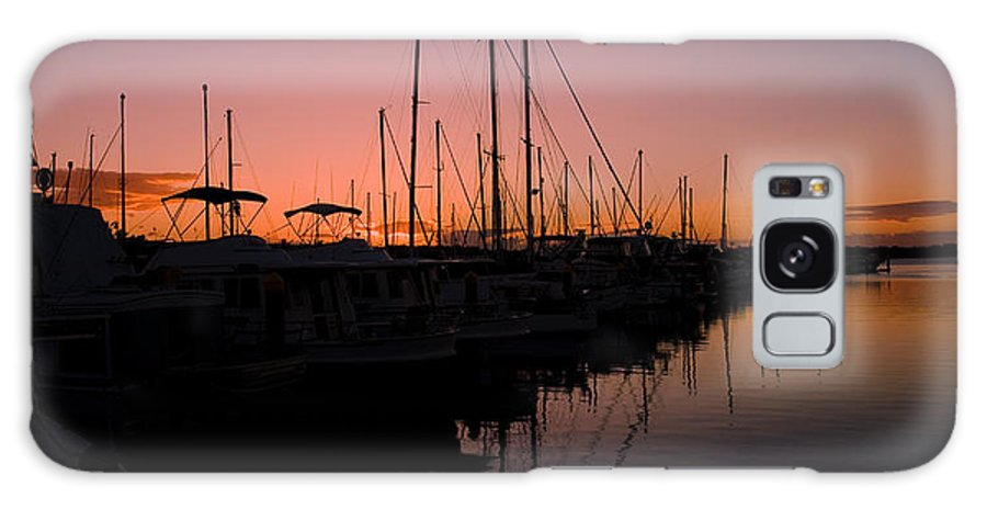 Sunset Galaxy S8 Case featuring the photograph Sunset Sail by Michael James