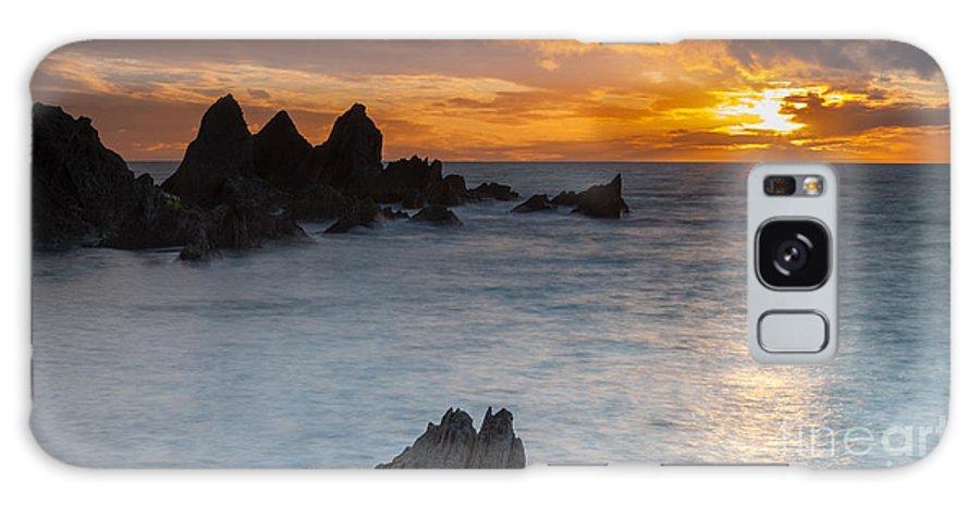 Bigbury Galaxy S8 Case featuring the photograph Sunset by Sebastian Wasek
