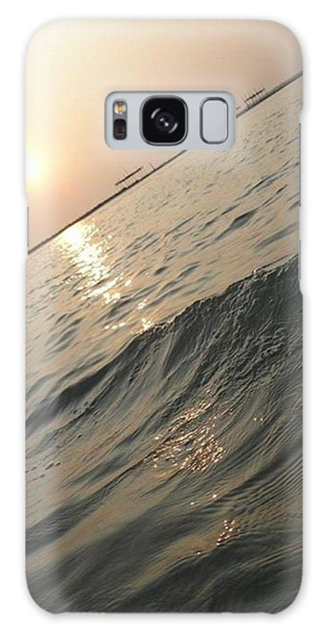 Sunset Galaxy S8 Case featuring the photograph Sunset View by Monalisa Nayak