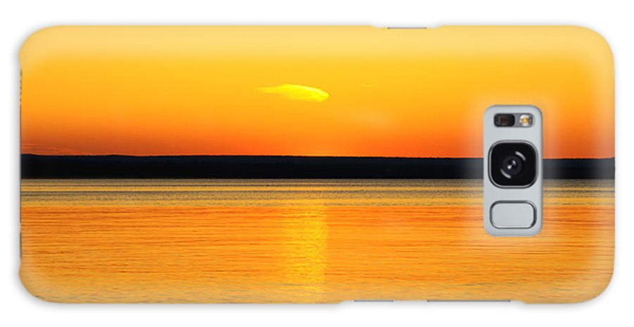 Sunset's Desire Galaxy S8 Case featuring the photograph Sunsets Desire by Rachel Cohen