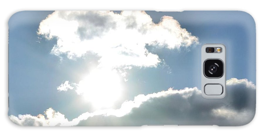 Sunshine Clouds Galaxy S8 Case featuring the photograph Sunshine Clouds by Maria Urso