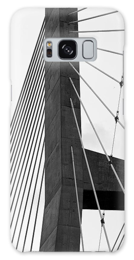Bridge Galaxy S8 Case featuring the photograph Supporting Role by Jane Eleanor Nicholas