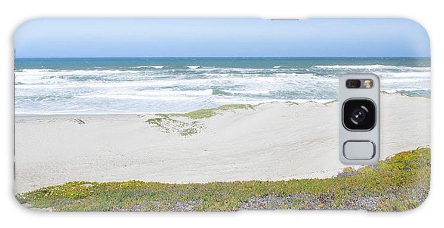 Barbara Snyder Galaxy S8 Case featuring the digital art Surf Beach Lompoc California 4 by Barbara Snyder