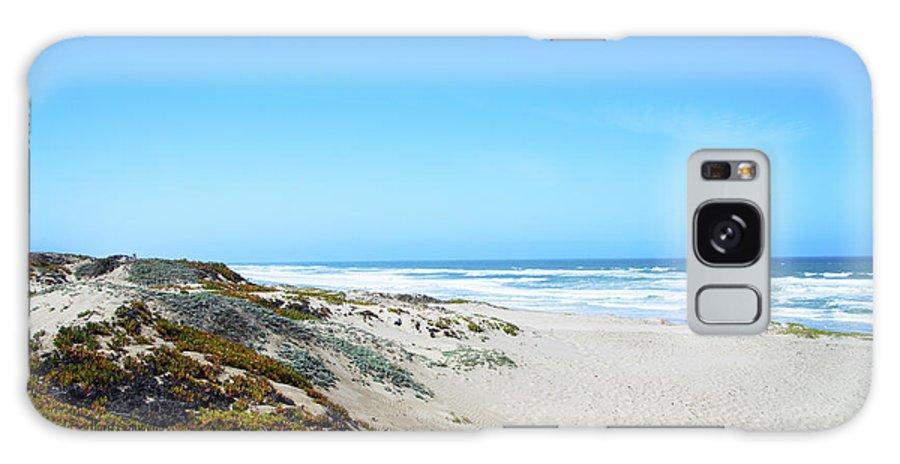 Barbara Snyder Galaxy S8 Case featuring the digital art Surf Beach Lompoc California by Barbara Snyder