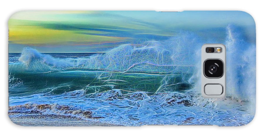 Water Galaxy S8 Case featuring the photograph Surf's On by Tony Ambrosio