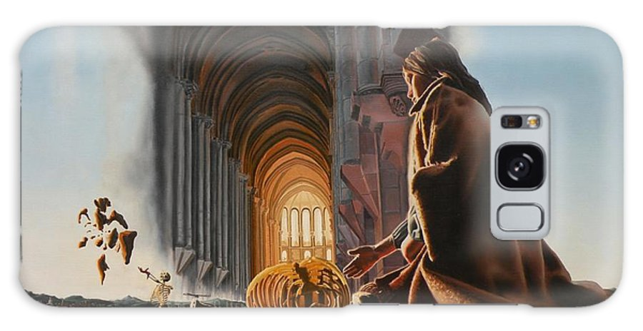 Surreal Galaxy S8 Case featuring the painting The Cathedral by Dave Martsolf