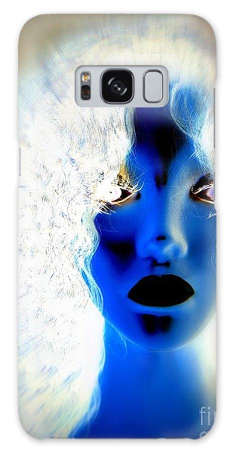 Pop Art Galaxy S8 Case featuring the digital art Surreal Sister by Ed Weidman
