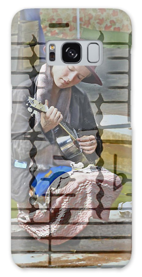 Guitar Galaxy S8 Case featuring the photograph Surrounded By Music by David Kehrli