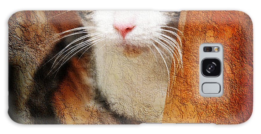 Cat Galaxy S8 Case featuring the photograph Sweet Innocence by Andee Design
