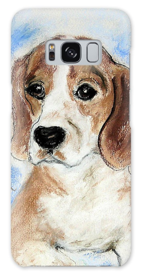 Dog Galaxy S8 Case featuring the drawing Sweet Innocence by Cori Solomon