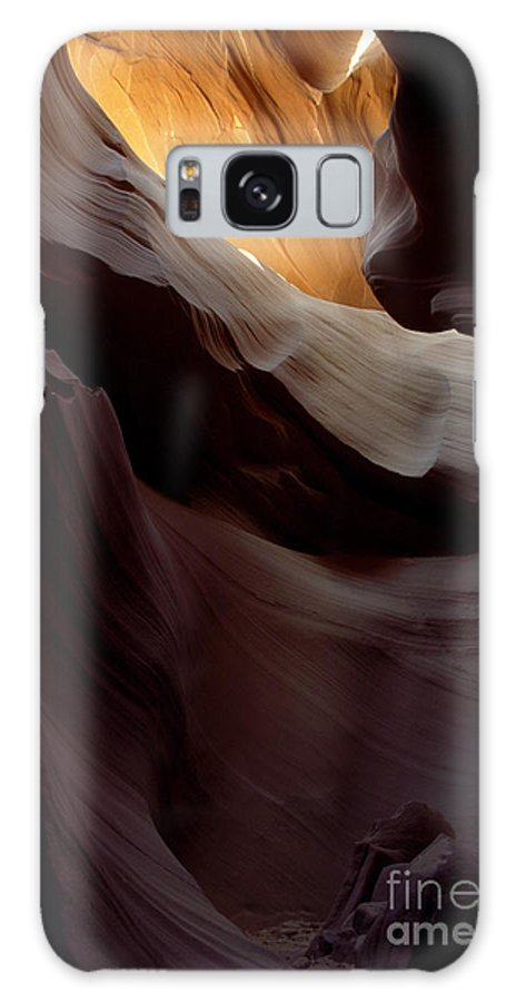 Slot Canyons Galaxy S8 Case featuring the photograph Swopes by Kathy McClure