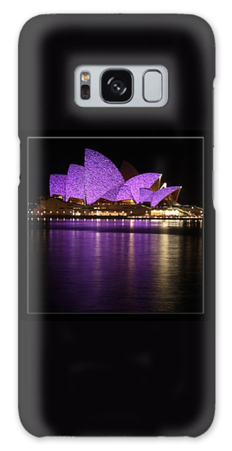 Sydney Galaxy S8 Case featuring the photograph Sydney Opera During Vivid Sydney Festival by Alexey Dubrovin