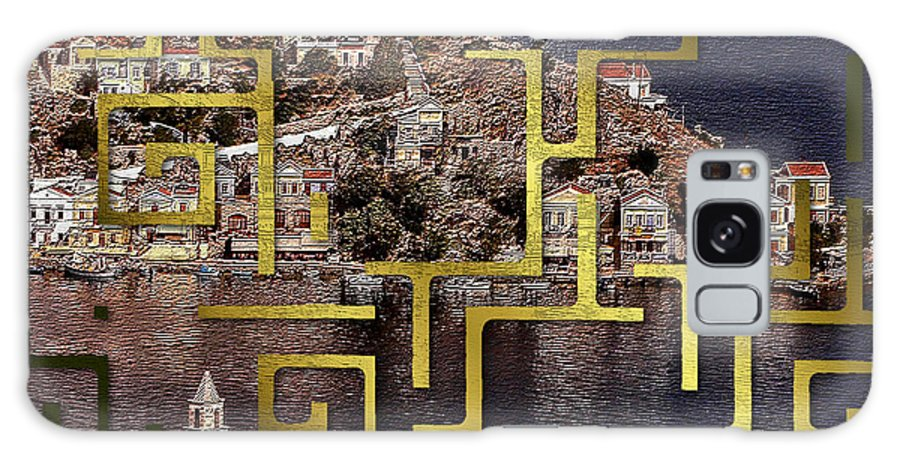 Greece Galaxy S8 Case featuring the photograph Symi by Ruta Naujokiene