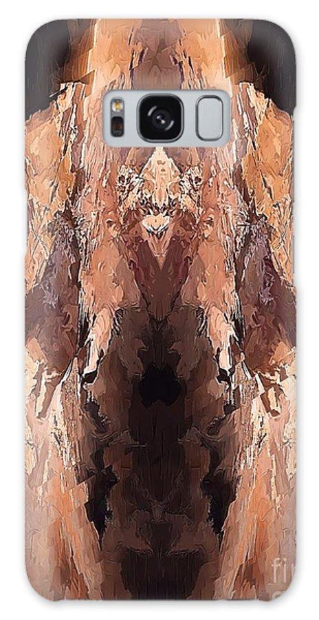 Painting Galaxy S8 Case featuring the digital art Symmetries - Marucii by Marek Lutek