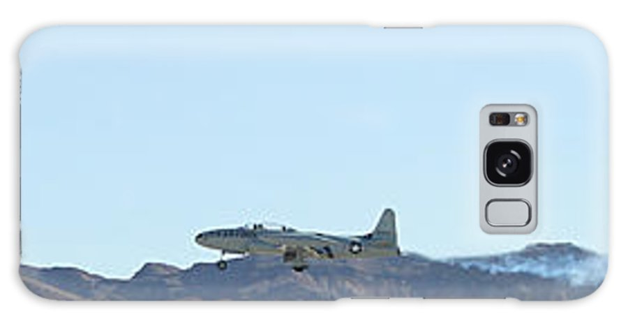 T33 Galaxy S8 Case featuring the photograph T-33 Shooting Star Flyby Nellis by Carl Deaville