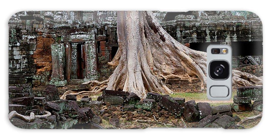 Ancient Galaxy S8 Case featuring the photograph Ta Prohm Temple Ruins by Artur Bogacki
