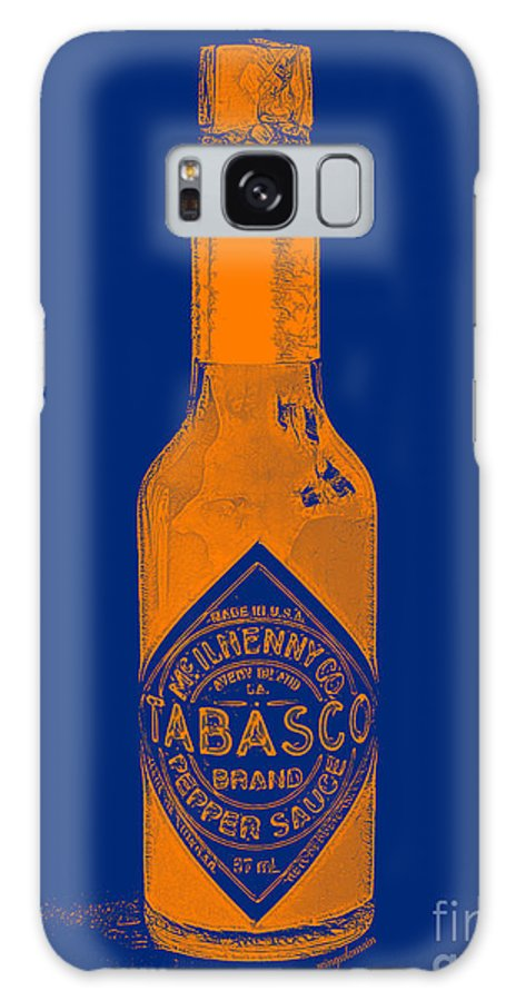 Tobasco Sauce Galaxy S8 Case featuring the photograph Tabasco Sauce 20130402grd2 by Wingsdomain Art and Photography