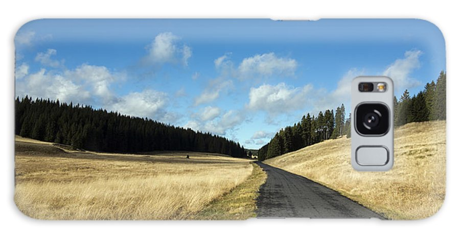 Czech Galaxy S8 Case featuring the photograph Tableland With Road by Michal Boubin