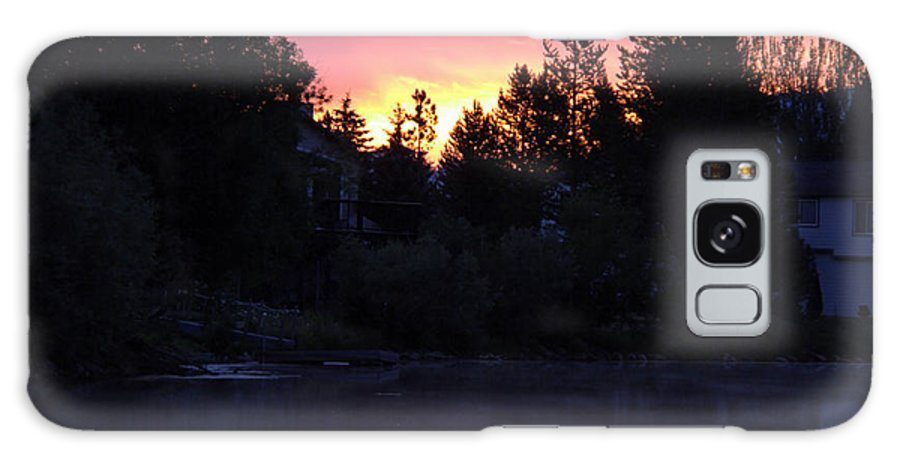 Randy Wehner Galaxy S8 Case featuring the photograph Tahoe Keys Sunrise by Randy Wehner Photography