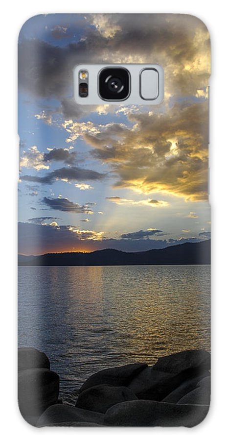 Tahoe Galaxy S8 Case featuring the photograph Tahoe Sunset by Mark Smith