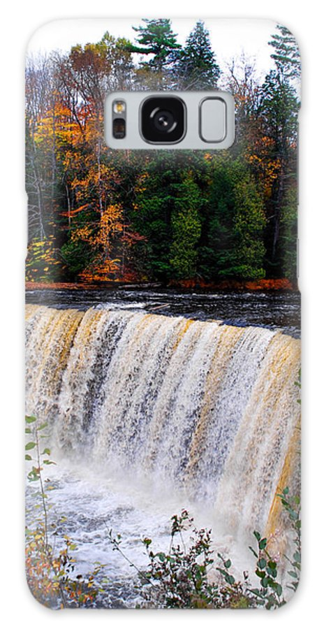 Optical Playground By Mp Ray Galaxy S8 Case featuring the photograph Tahquamenon Falls I by Optical Playground By MP Ray