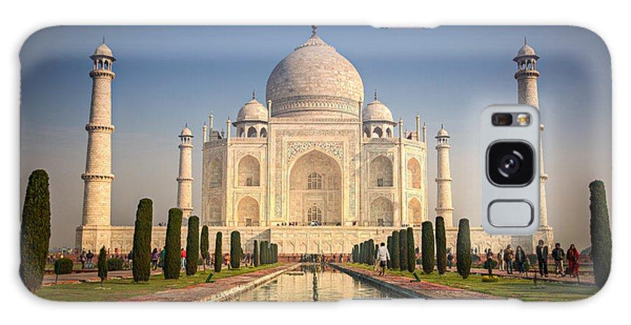 Agra Galaxy S8 Case featuring the photograph Taj Mahal 1 by Brad Grove