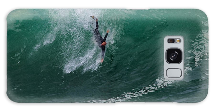 Surf Galaxy S8 Case featuring the photograph Take A Deep Breath by Joe Schofield
