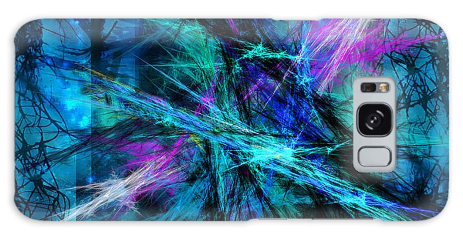 Abstract Galaxy S8 Case featuring the photograph Tangled Web by Sylvia Thornton