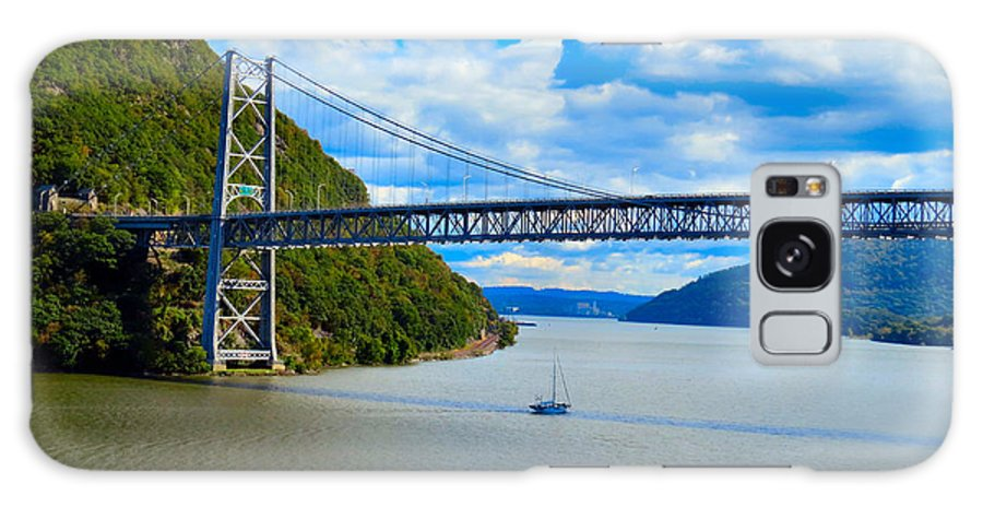 Sky Galaxy S8 Case featuring the photograph Tappan Zee Span by Art Dingo