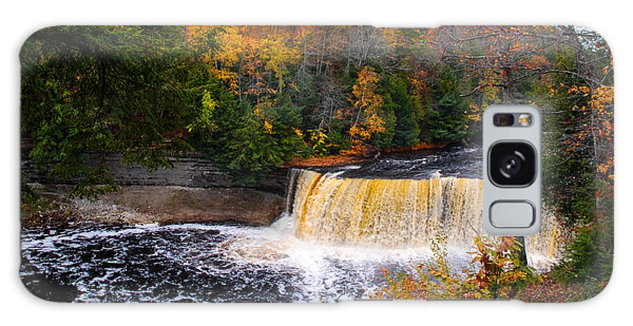Optical Playground By Mp Ray Galaxy S8 Case featuring the photograph Taquamenon Falls IIi by Optical Playground By MP Ray