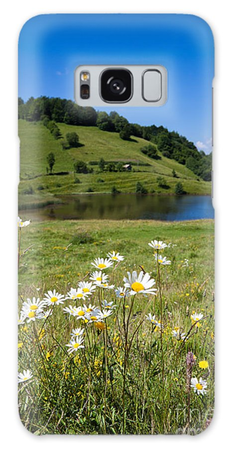 Tau Mare Galaxy S8 Case featuring the photograph Tau Mare Lake by Gabriela Insuratelu